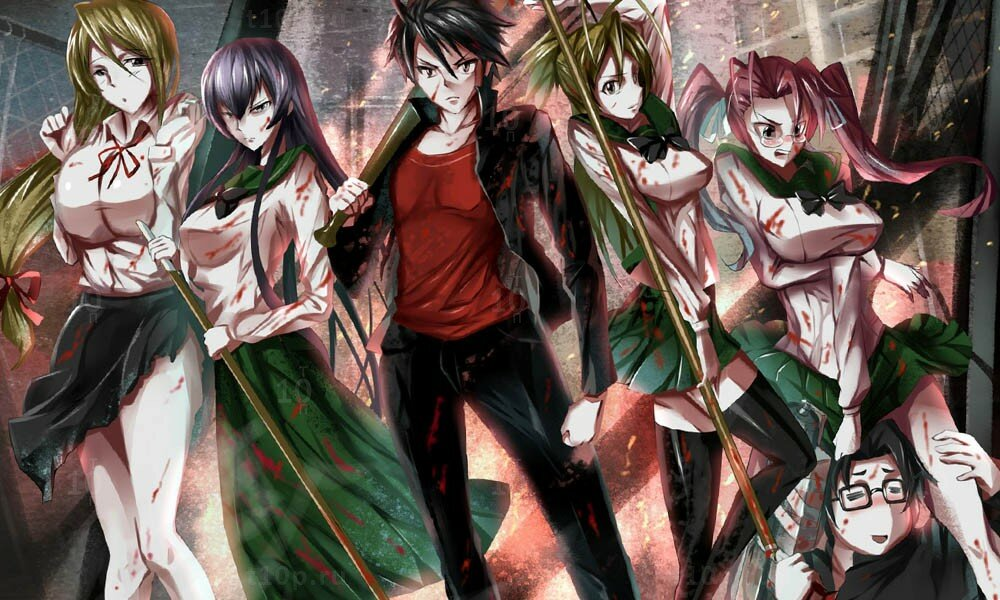 Старшая школа мертвецов (Highschool of the Dead)